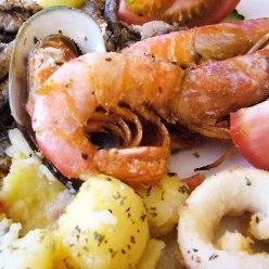 Choice of Seafood