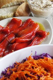 Sweet Peppers & Cabbage Salad