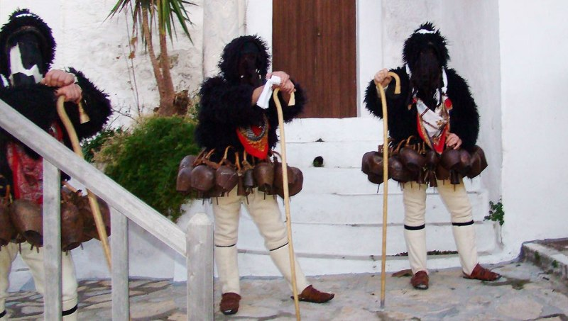 The Goat Dance of Skyros Island