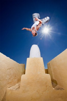 Nathan Jones – Santorini Parkour