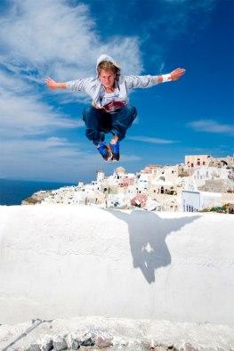 Ryan Doyle - Santorini Parkour