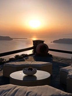 Imerovigli Sunset from Tholos Resort