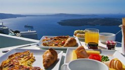Breakfast at Tholos Resort